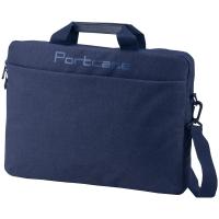 """Сумка для ноутбука 15,6"""" PortCase KCB-160 DB полиэстер, нейлон, синий, 410*310*70мм"""