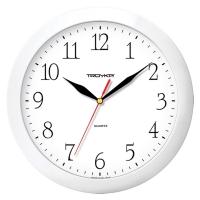 Часы настенные ход плавный, Troyka , круглые, 29*29*3,5, белая рамка