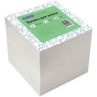 Блок для записи OfficeSpace, 9*9*9см, белый, белизна 70-80%