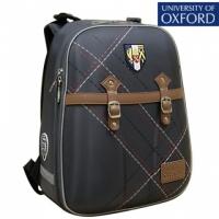 Рюкзак школьный OXFORD (Оксфорд) Ремни т.серый