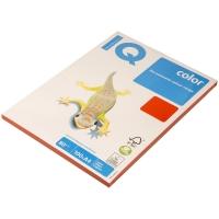 "Бумага IQ ""Color intensive"" А4, 80г/м2, 100л. (кораллово-красный)"