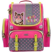 Рюкзак школьный Mike&Mar (Майк Мар) Котик в очках (мал/сер)+мешок
