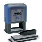 Самонаборный штамп 7строчный 60х33мм Trodat пластиковый 2 кассы (64928)