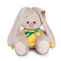 Зайка Ми в желтом сарафане с морковой (малыш)(15см)