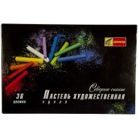 """Пастель художественная """"Северное Сияние"""" 36 цветов, картон. уп."""