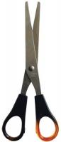 Ножницы 162мм Sponsor симметричные пластиковые ручки янтарные