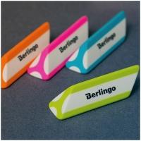 """Ластик Berlingo """"Triangle Pro"""", треугольный, скошенный, термопластичная резина, 57*16*16мм"""