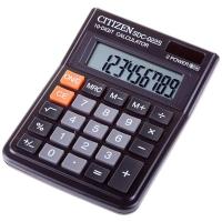 Калькулятор настольный SDC-022S 10 разрядов, двойное питание, 87*120*22 мм, черный
