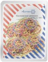 Резинка для денег 500гр. 60мм ATTOMEX  цветные,70% натурал.каучук