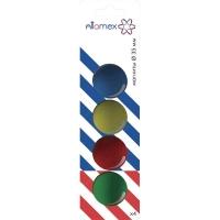 Набор магнитов д/доски ATTOMEX 4шт. 35мм цв. асс. карт. блист.