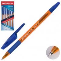 Ручка шар. EK R-301 Amber Strick&Grip  синий, 0,7мм
