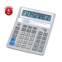 Калькулятор настольный Citizen , 12 разрядов, двойное питание, 158*203*31мм, белый