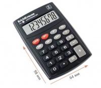 Калькулятор карм. EK PC-121 40121 8разр. черн.