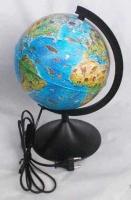 Глобус с подсв. d=210 ГЛОБЕН Зоогеографический детский