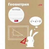"""Тетрадь предм. 48л. ХАТ """"Белый кролик-Геометрия"""" 17777 справ. инф. (клетка)"""