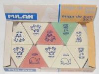 Ластик MILAN  треугольный для чернограф. карандашей