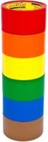Клейкая лента 50*66 красная, 38м, 45мкм (universal TAPE)