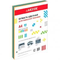 Бумага А4 д/офисной техники deVENTE  250л. цвета медиум 5цв.