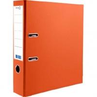 Регистратор 50мм ATTOMEX А4  PVC,оранж.,сборн., наварной карман с этикеткой