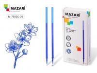 Стержень гелевый MAZARI 0,5мм  стираем.чернила, синий 122мм