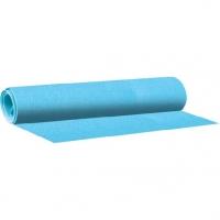 Фоамиран 50*70см deVENTE бледно-голубой 1мм в рулоне пласт. пакет