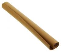 Фоамиран 50*70см  темно-коричневый 1мм в рулоне пласт. пакет