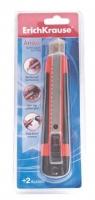 Нож канцелярский 18мм EK  ARROW дв.блистер +2 лезвия