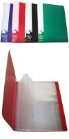 Папка пластиковая с файлами А4 060вкл, Бюрократ ассорти (BPV60grn) (26)