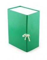 Папка архивная  5см зеленая