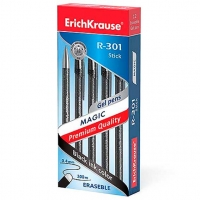 Ручка гелевая (стираемые чернила) EK Magic Gel  0.5мм черный
