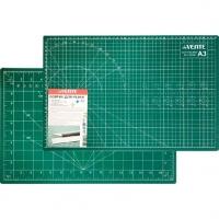 Коврик д/резки deVENTE А3 непрорезаемый,толщ.3мм,двухстор.,трехсл.