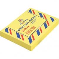 Кл.бумага д/заметок 51*76мм 100л. неоновая желтая