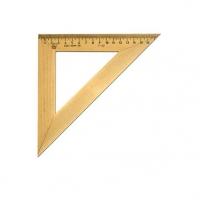 Треугольник деревянный 45/180  МОЖГА