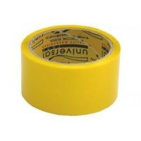 Клейкая лента 50*66 желтая, 38м, 45мкм (universal TAPE)