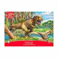 """Альбом для рис.40л. EK склейка """"Эра динозавров"""""""