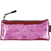 """Пенал-косметичка  215*90*10 """"Flamingo""""  плоский,кож.зам.хамелеон"""