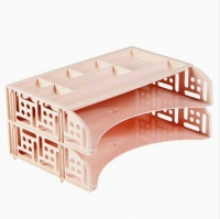 Набор (2 горизонт.лотка+органайзер) СТАММ FIELD Paris розовый