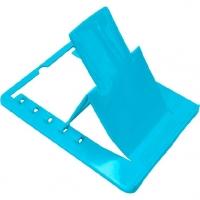 Подставка для книг Attomex пластик .,160*125мм, голуб.,е/подвес