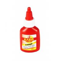 Клей ПВА-М 025гр, Луч, (красный флакон) (100)