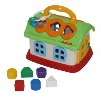 Логич.игрушка Сказочный домик в сетке