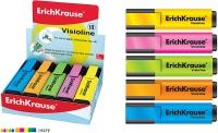 Выделитель текста EK V-20, 0,6-5,2мм, скошенный, желтый (Erich Krause)
