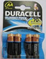 Батарейка Duracell LR6 Turbo 1500  К4