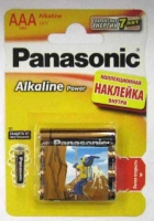 Батарейка  LR6  Panasonic Alkaline BL-4