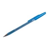 Ручка шариковая Pilot, 0.7мм, прозрачный корпус, колпачок с клипом, стержень синий (Pilot)