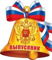 Медаль ВЫПУСКНИК ( РФ ). 94x94мм (фольга)