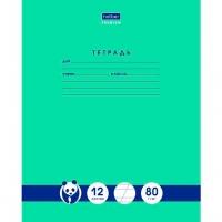 "Тетрадь 12л. (кос.лин) ХАТ ""Панда-Тетрадь""  вн.блок 80г/м2"