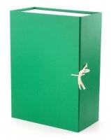 Папка архивная 12см разборная зелен.