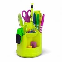 "Набор настольный EK ""Mini Desk. Neon Solid""  жёлтый,вращ.,"
