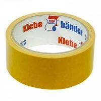 Скотч двусторонний 50мм*5м Klebebander полипропилен,индив.уп.