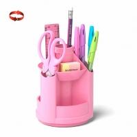 "Набор настольный EK ""Mini Desk. Pastel""  розовый,вращ."